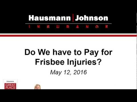 On Demand Webinar: Do We Have to Pay for Frisbee Injuries?