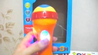 Детская игрушка обзор - Музыкальный микрофон Joy Toy