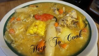 HOW TO MAKE A QUICK FAST AND EASY JAMAICAN CHICKEN SOUP RECIPE 2017 VOLUME 2