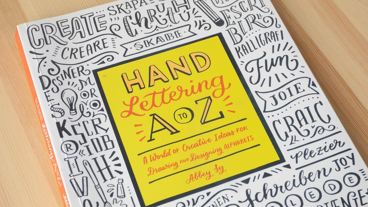 Review: Hand Lettering A to Z by Abbey Sy