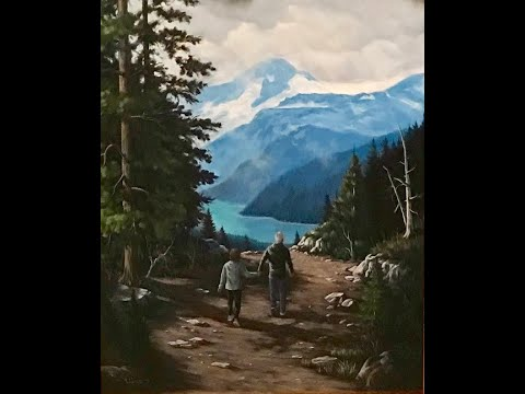 Painting people into a landscape