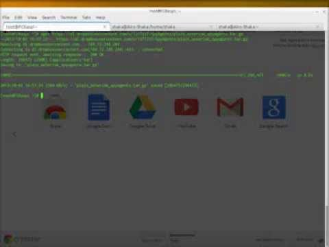 Instalación GUI en asterisk plano para Aplicación Movil SPY AGENTS