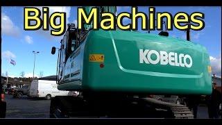 Kobelco SK 350 Lc Excavator Vs Komatsu Pc 240 Lc Steam Shovel  Big Machines
