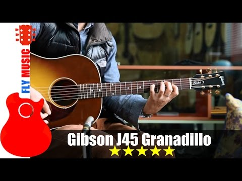 gibson j45 granadillo guitars review youtube. Black Bedroom Furniture Sets. Home Design Ideas