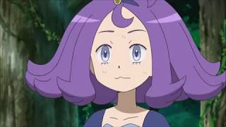 Gengar attempts to eat Acerola