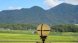 ことこと列車から見た令和元年8月24日開業の「令和コスタ駅」