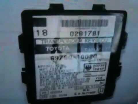 2008 Tundra Wiring Diagram Lost Car Key Toyota Immobox Box Youtube