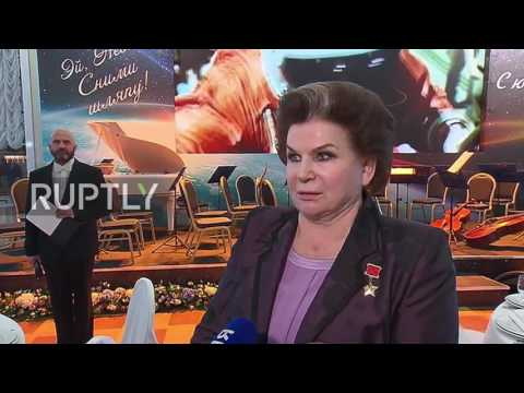 Russia: Tereshkova celebrates 80th birthday days after receiving Order of Merit