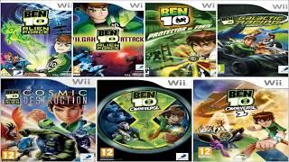 """Descargar Todos los Juegos de """"Ben 10"""" para Nintendo Wii [Multi][Iso][Mega]"""