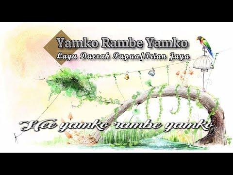[Midi Karaoke] ♬ Lagu Daerah - Yamko Rambe Yamko ♬ +Lirik Lagu [High Quality Sound]