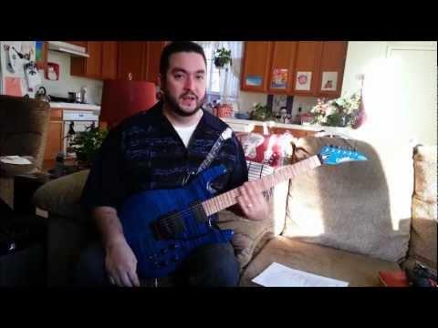 Carvin JB200C Jason Becker Tribute Guitar Review