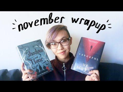 ⏳ november wrapup | vengeful, shadow and bone, & more 🌘