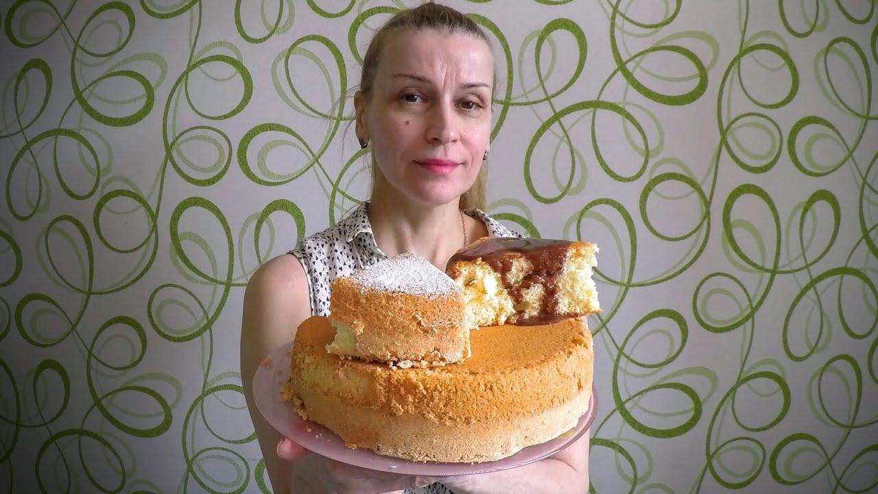 Рецепт бисквитного торта быстро и вкусно