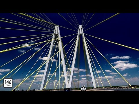 Special: The Fred Hartman Bridge - Baytown/La Porte, Texas - with roadwaywiz