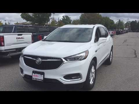 Summit White 2019 Buick Enclave FWD 4dr Essence Review Oshawa null - Mills Motors Buick GMC