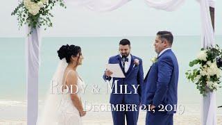 LaPlaya Beach Resort Wedding | Rody & Mily