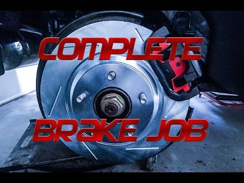 How to install BRAKES! Complete guide for Mazda RX-8!