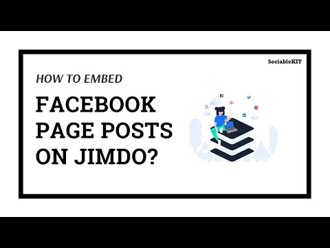 How To Embed Facebook Page Feed on Jimdo?