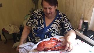 Download Бабушка 👵 🇧🇾 пробует лобстера 🦀 🇳🇴  первый раз в жизни Mp3 and Videos