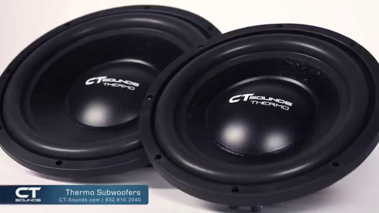 CT Sounds Thermo Shallow Mount Subwoofers | Product Overview