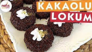 Kakaolu Lokum Tatlısı - Sütlü Tatlı Tarifleri - Nefis Yemek Tarifleri