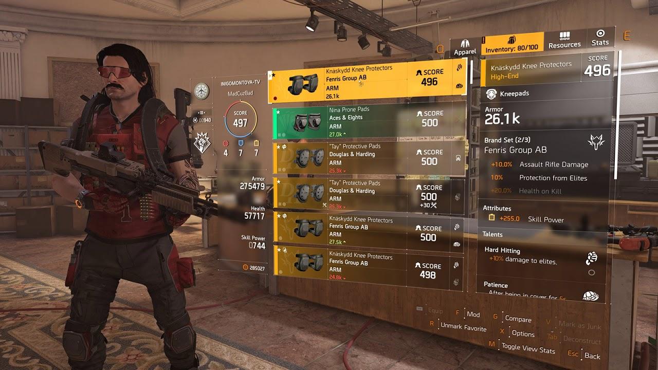 division 2 raid build