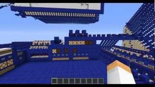 "DEMO program of my redstone computer in Minecraft ""BlueStone"""