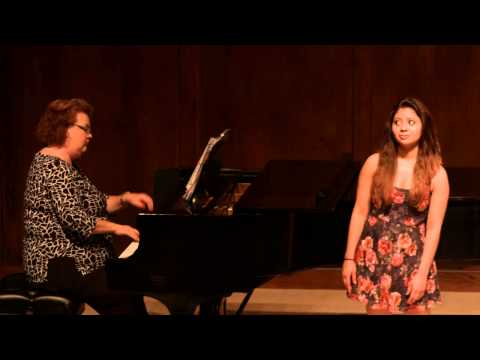 Brownwood High School State Solo Recital 2015