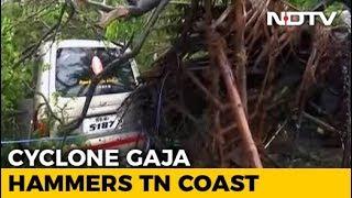 Over 76,000 Evacuated As Cyclone Gaja Hammers Coastal Tamil Nadu
