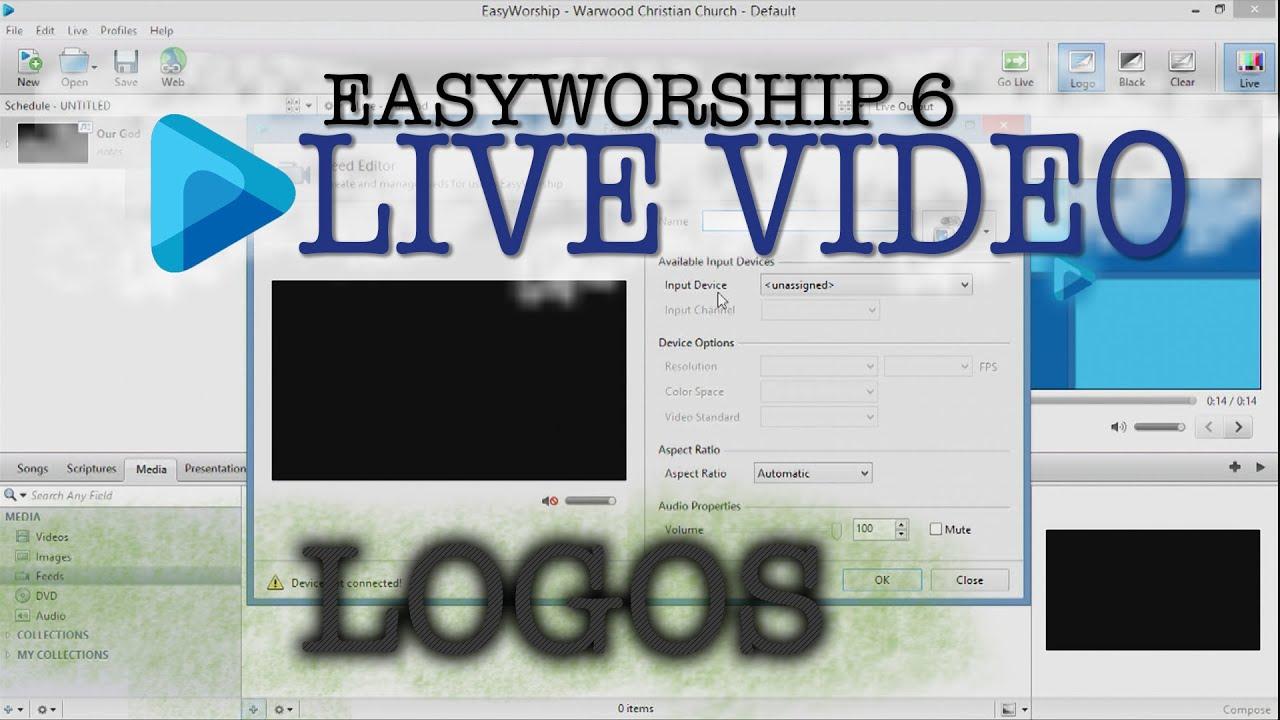 easyworship 6 powerpoint not full screen
