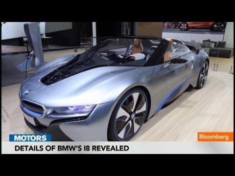 Details of BMW's i8 Revealed