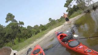 Kayak Camping Trip False Cape State Park