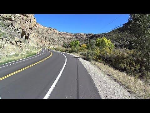 Cycling Plateau Creek DeBeque Cutoff