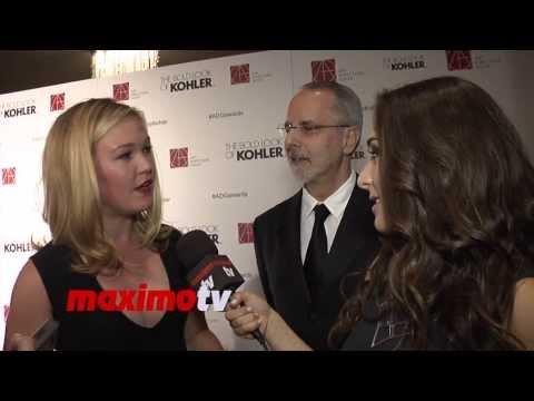 Julia Stiles Interview ► 2014 Art Directors Guild Awards Arrivals ► The Bourne Ultimatum
