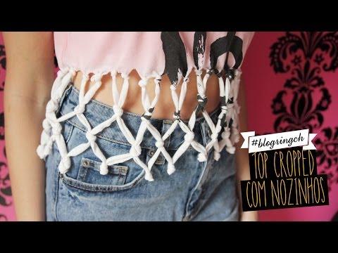 #blogringCH: Isa Scherer ensina a fazer um top cropped com nozinhos