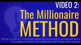Unity Network-ATM System Video 2: Millionaire Method