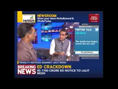 Newsroom: Analysing Lalit Modi's Lawyer's Statement On Travel Scandal