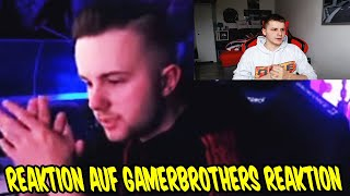 REAKTION auf GAMERBROTHERS Reaktion auf mein ANSAGE Video an TISISCHUBECH, FEELFIFA #1  - FifaGaming