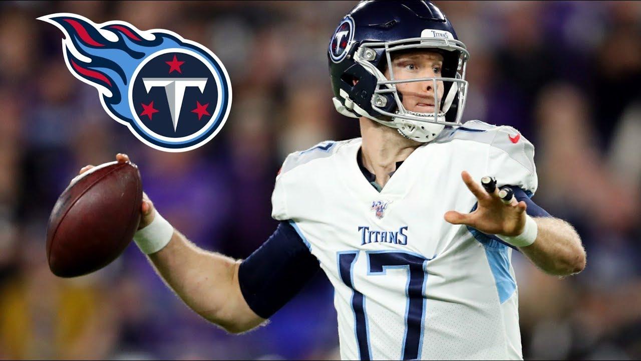 Titans sign quarterback Ryan Tannehill to a four-year, $118M ...