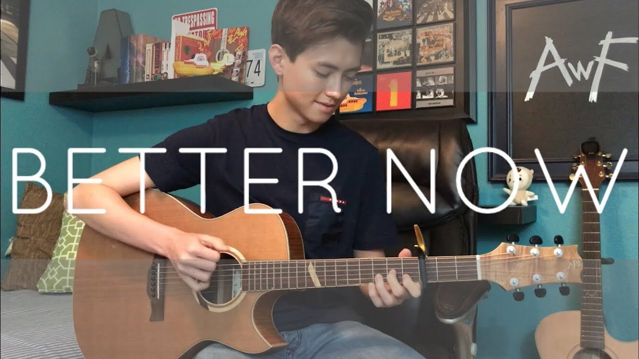 Post Malone - Better Now - Cover (fingerstyle guitar)