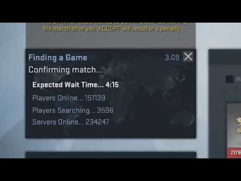 Csgo accept button doesnt show