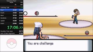 Pokemon Pearl Any% Speedrun in 58:22 [Current World Record]