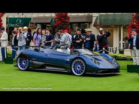 the 15 million pagani zonda hp barchetta monterey carweek 2017 youtube. Black Bedroom Furniture Sets. Home Design Ideas