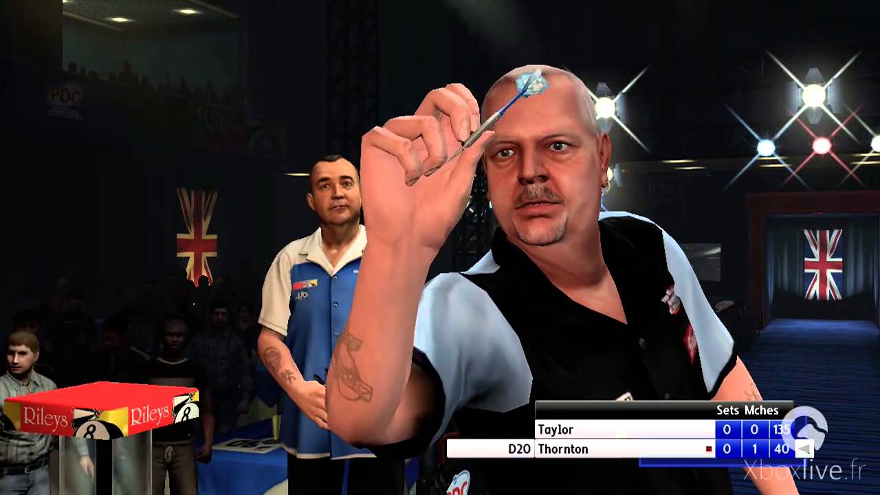 Pdc World Championship Darts Pro Tour Gameplay Xbox 360 Youtube