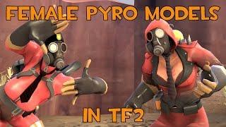 Female Pyro Model in TF2