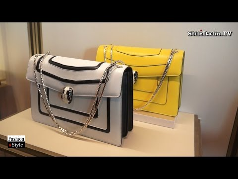 """Italian Fashion"" - ""Bulgari"" - ""2016 Spring Summer"" Accessories, Bags & Jewelry"