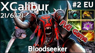 XCalibur  Bloodseeker - Dota 2 Full Game 7.17