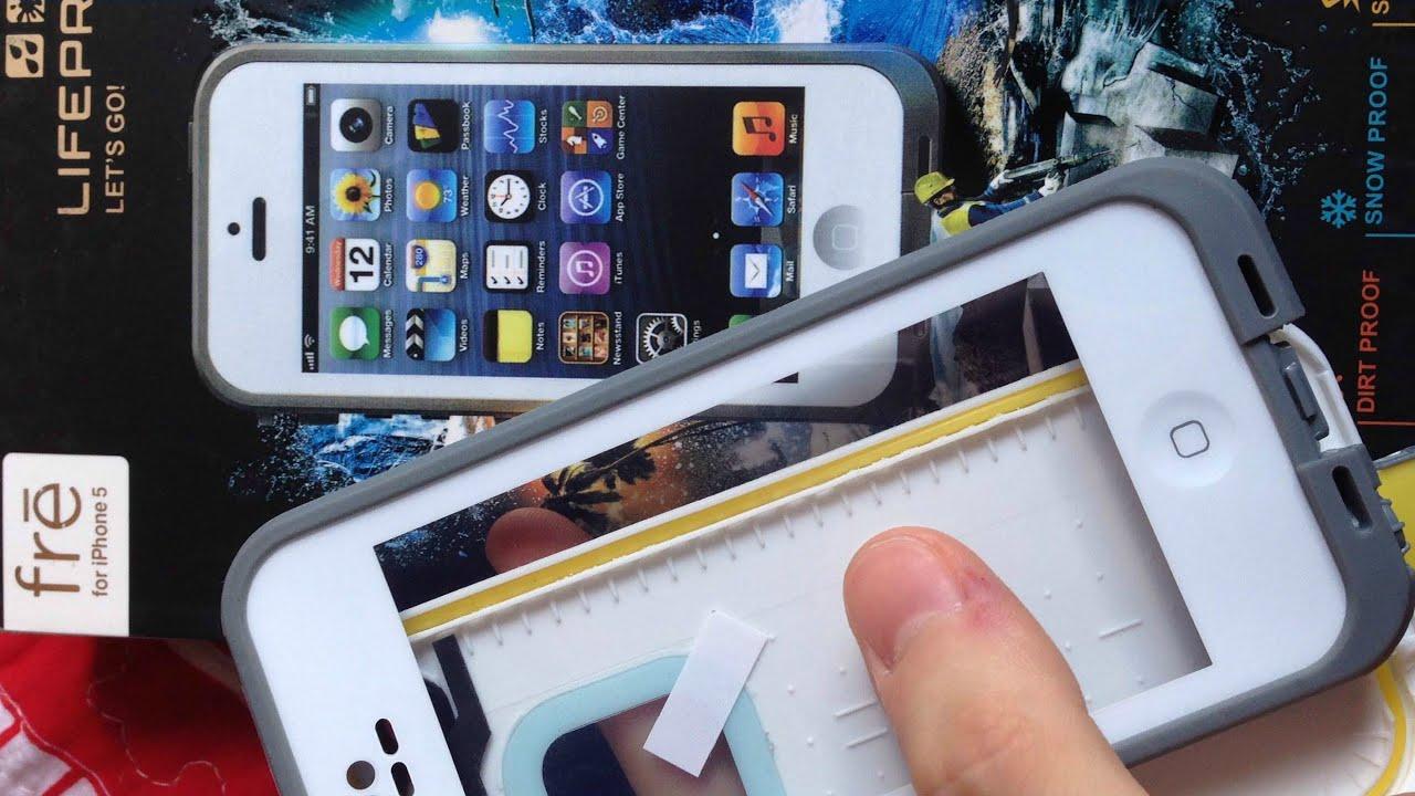 d025020ee6f Case a prova d'água, funciona mesmo? Capinha Lifeproof iPhone & Teste |  Igor Saringer