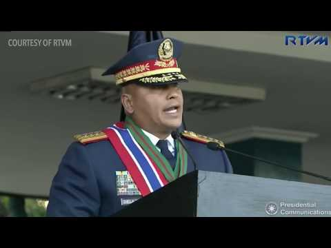 Full speech: Outgoing PNP chief Ronald dela Rosa, 19 April 2
