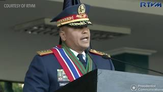 Full speech: Outgoing PNP chief Ronald dela Rosa, 19 April 2018